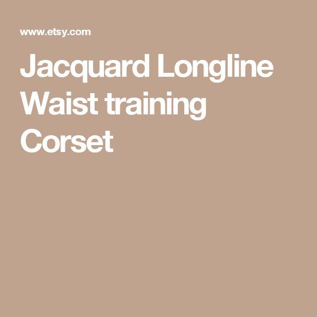 Jacquard Longline Waist training Corset