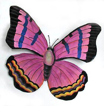 Butterfly Wall Art, Butterfly Design, Purple Butterfly, Butterfly Kisses,  Dragonfly Art, Metal Wall Decor, Metal Wall Art, Metal Walls, Hanging  Gardens