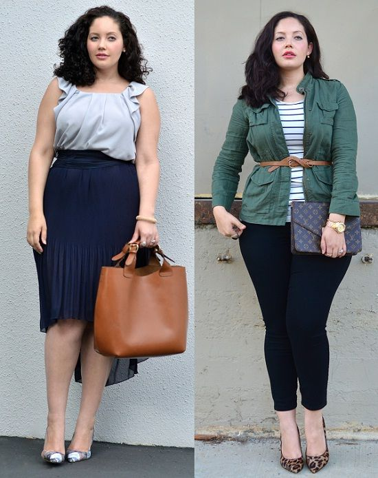 Time for Fashion » Looks de street style para tallas grandes – Street style looks for plus-size girls
