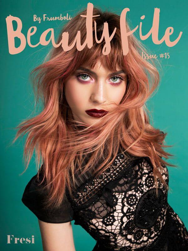Producción de Bettina para Beauty File con la IT girl Fresi Power. Conoce además cuál es su rutina de cuidados para el pelo y el cuerpo
