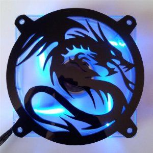 Amazon.com: Custom Acrylic Flying Dragon Computer Fan Grill 140mm: Computers & Accessories
