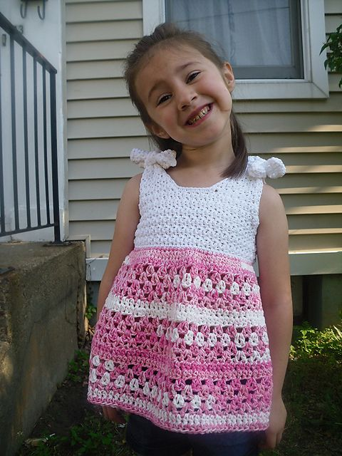 221 best girls summer knit@crochet images on Pinterest | Crochet ...