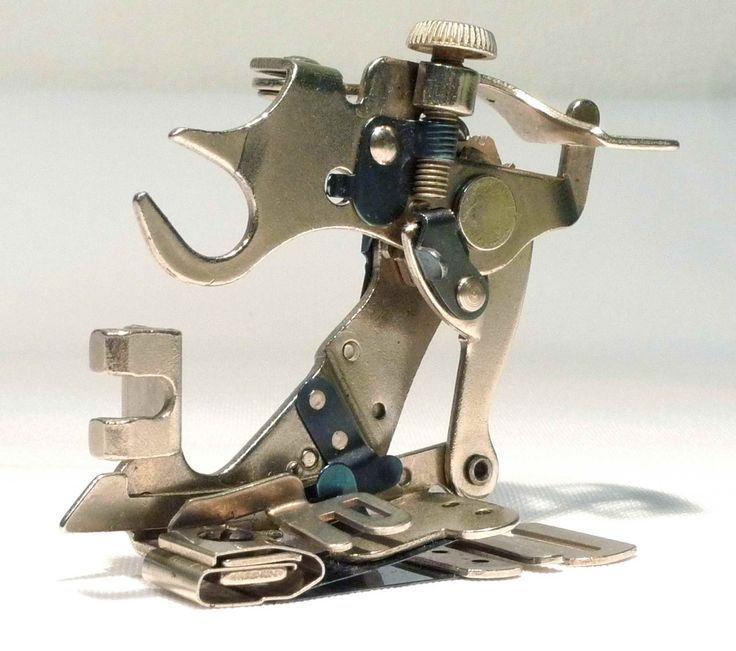 Rare Vintage SINGER SIMANCO 86642 Ruffler Sewing Machine Attachment Foot by 3FTERS on Etsy