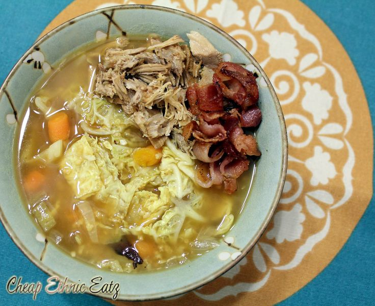 Irish Bacon Cabbage Millet Soup