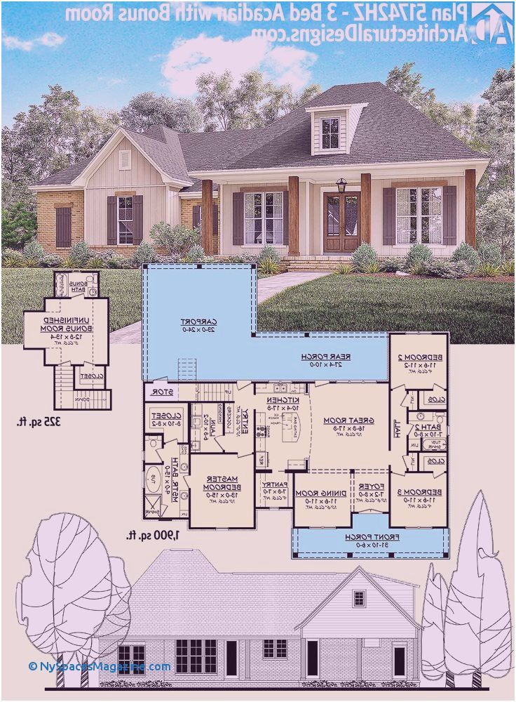 Cozy Cottage Home Plans In 2020 Beautiful House Plans Unique House Plans Craftsman House Plans