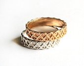 Filigree ring, 14k gold plated ring, silver sterling ring,size made to order ring.