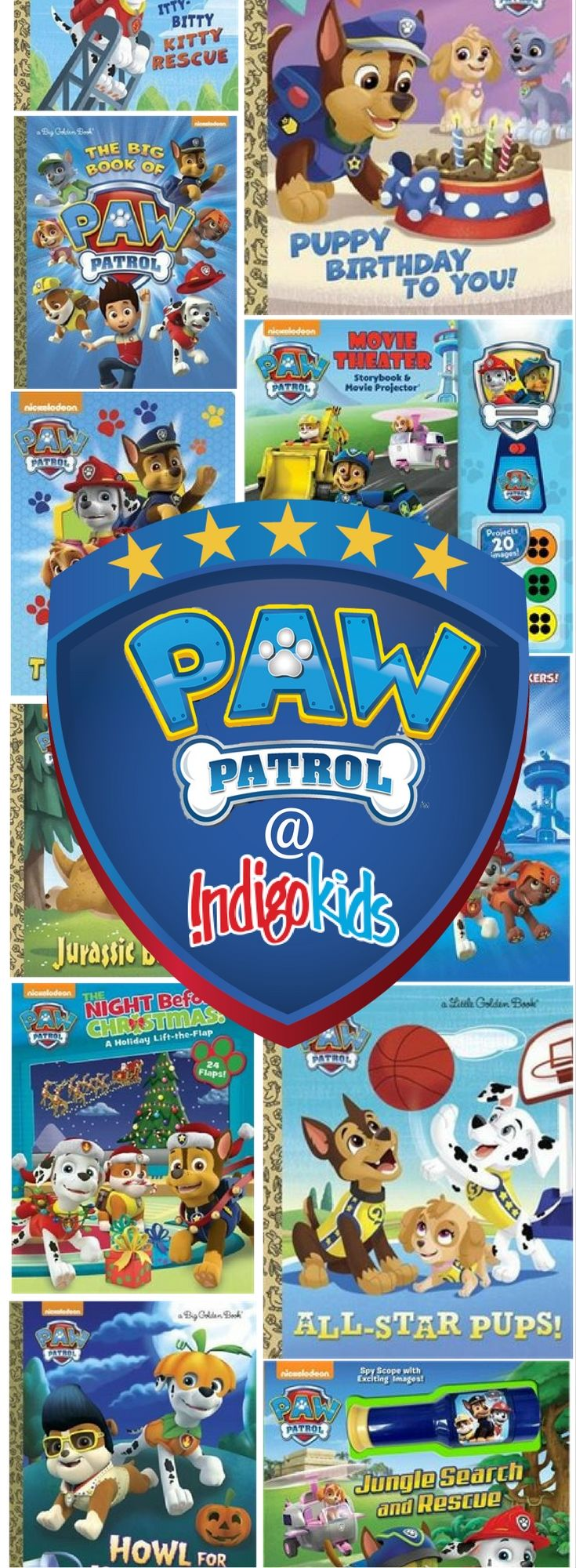 Paw Patrol Books Sets From 429 Shipped Chapters Indigo
