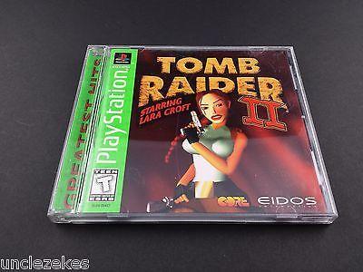 Tomb Raider II Starring Lara Croft Sony PlayStation 1 1997