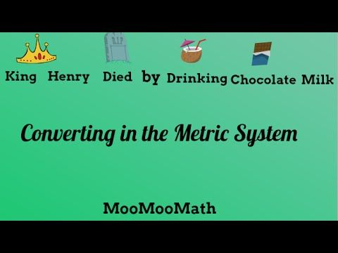 converting in the metric system use king henry died by drinking chocolate milk in order to. Black Bedroom Furniture Sets. Home Design Ideas