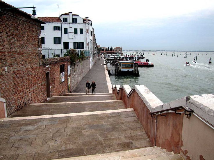 Fondamenta Nuove, Cannaregio, Venice. I love this picture because it is right outside of my courtyard <3