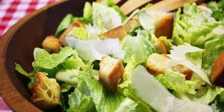 Michael Smith's Caesar's Salad,This is the best recipe and he uses Dijon mustard instead of mayo or eggs.
