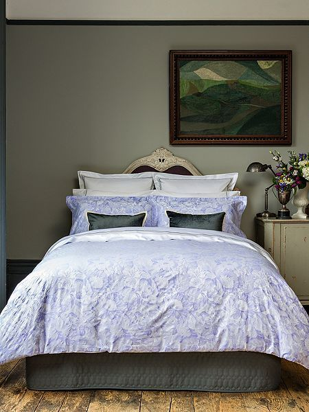 Westbury double duvet cover hyacinth