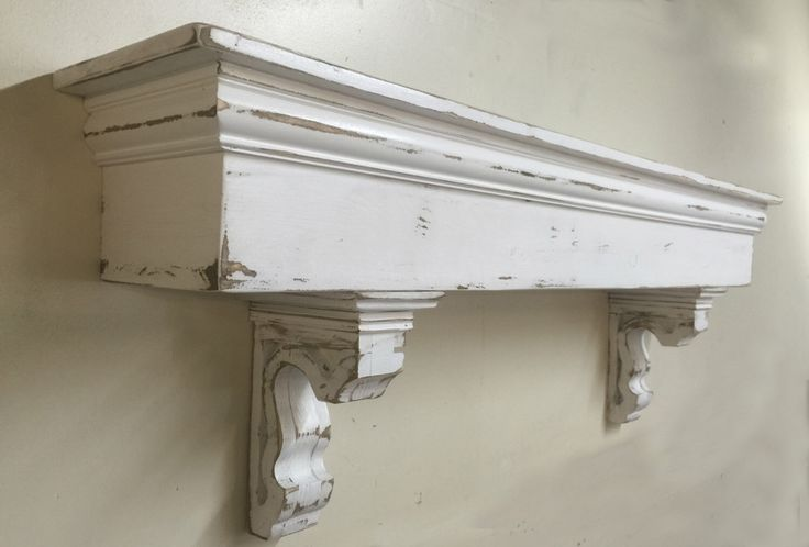 French Country Mantle with corbels, Large Mantle, Wooden Corbels, Floating shelf and corbels, Custom Mantle and Corbels, by LynxCreekDesigns on Etsy https://www.etsy.com/listing/265993013/french-country-mantle-with-corbels-large