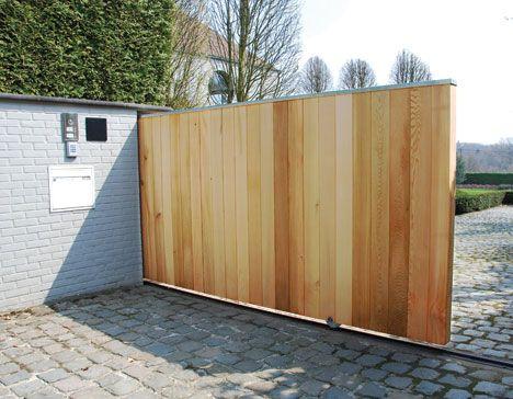 Plus de 1000 id es propos de jardin sur pinterest pergolas pi ces d 39 - Planche bois pour portail ...