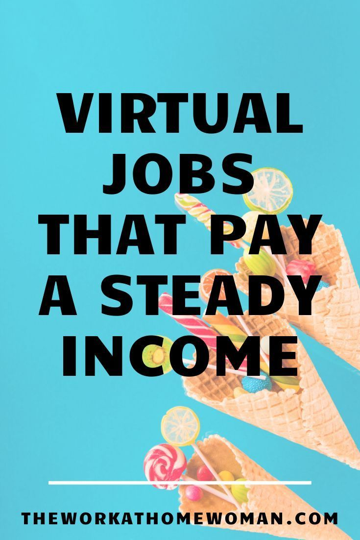 A Massive List Of Work At Home Jobs For Reliable Income Work