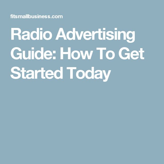 Radio Advertising Guide: How To Get Started Today