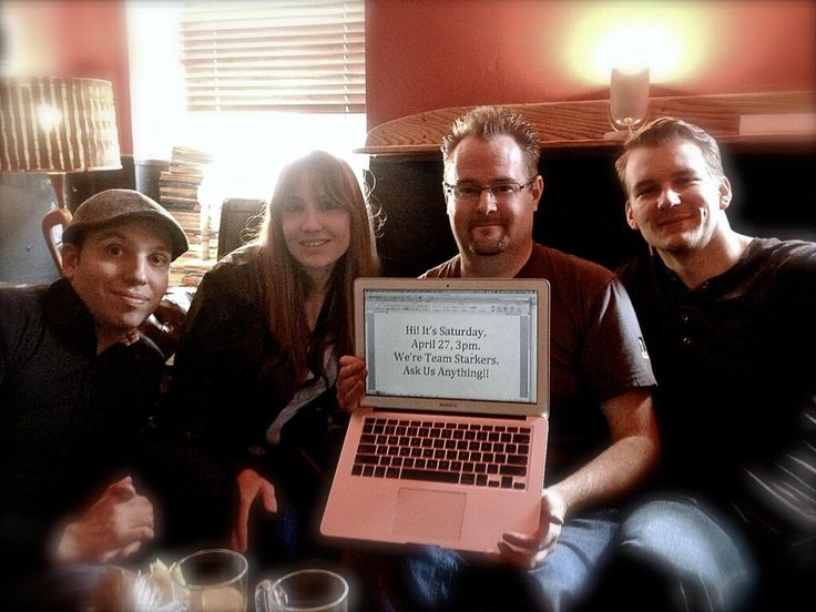 Team #Starkers #Reddit AMA