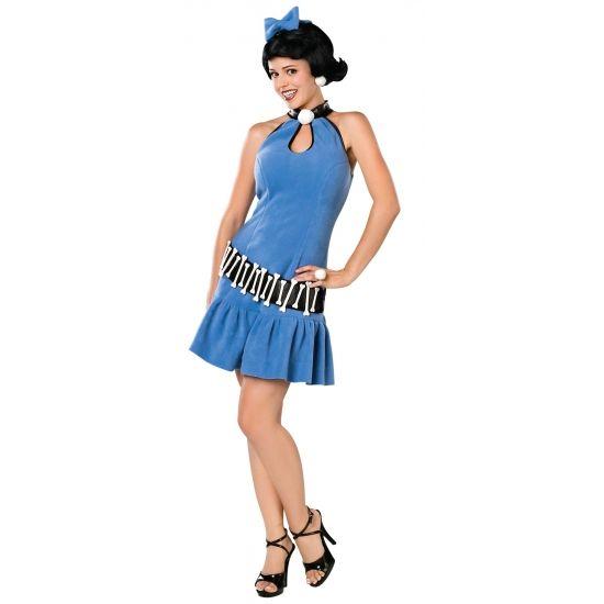 Flintstones Betty Rubble kostuum. Compleet Betty Rubble van de Flintstone kostuum voor dames: inclusief jurkje, riem en pruik. Carnavalskleding 2015 #carnaval