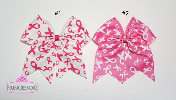 Hey, I found this really awesome Etsy listing at https://www.etsy.com/listing/245881511/breast-cancer-cheer-bow-breast-cancer