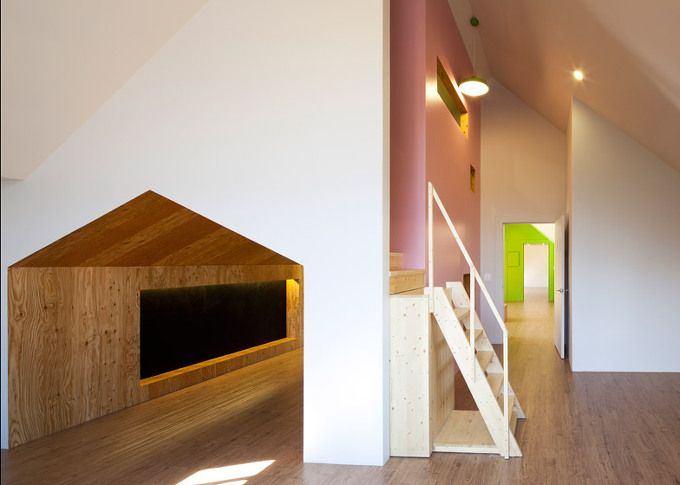 *집속의 집-어린이 센터[ UTAA ] children's centre_a house within a house :: 5osA: [오사]