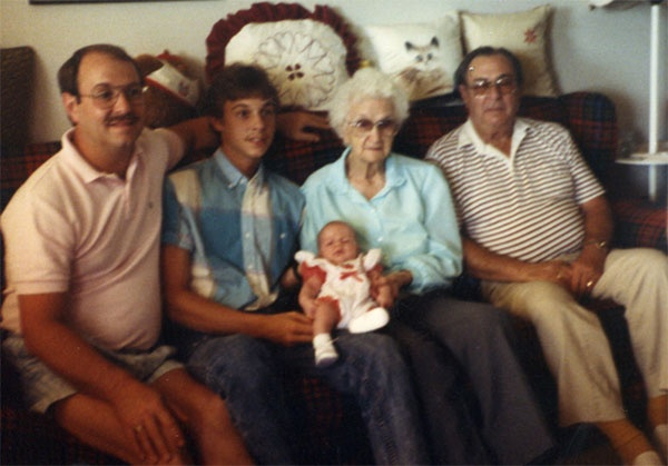 5 generations of Willis back then