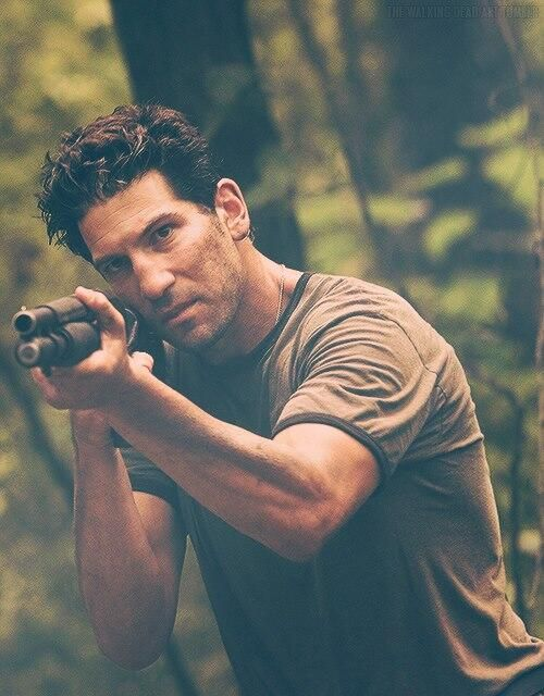 Shane (Jon Bernthal) from Walking Dead. Love it.