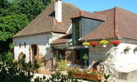 Le clos du moulin à Vron : Escapade gourmande en Baie de Somme: #VRON 69.00€ au lieu de 120.00€ (42% de réduction)