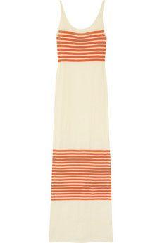 haute hippie: Stripes Fine Knits, Dresses Clothing, Long Dresses, Stripes Maxi Dresses, Fine Knits Cotton, Hippie Stripes, Haute Hippie, Maxi Dresses Summer, Cotton Maxi Dresses