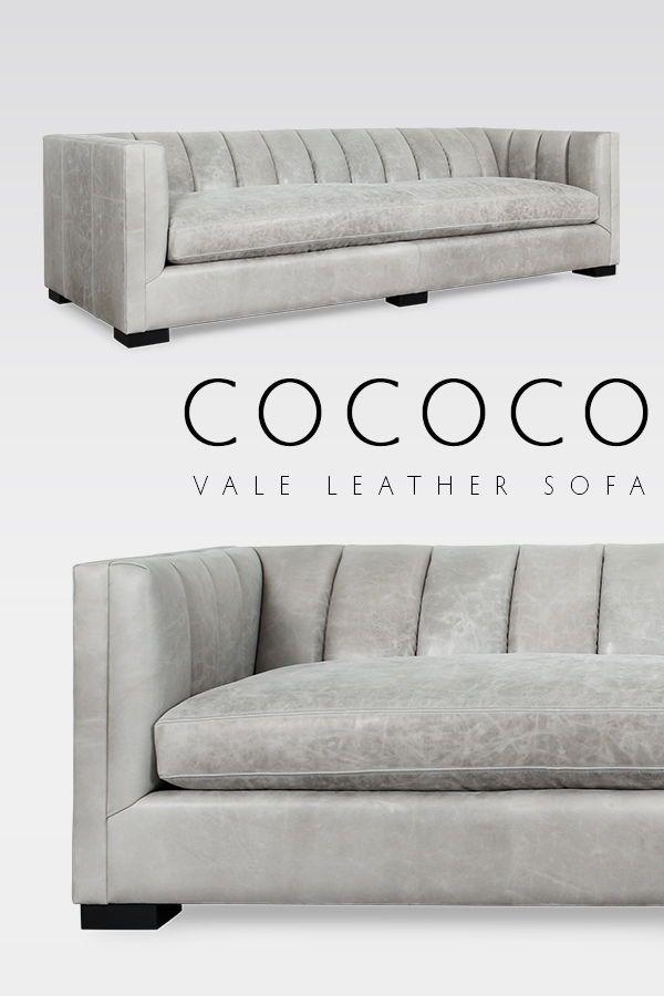 Vale Leather Sofa Made In Usa Leather Sofa Leather Furniture