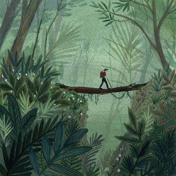 Jungle Hike  by Becca Stadtlander  on Etsy