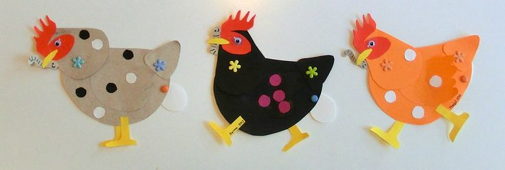 kippen voor kleuters / La ferme - Mon escargot!