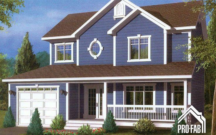 31 best maison images on pinterest building construction and blueprints for homes for Constructeur maison prefabriquee