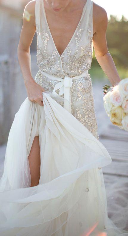 Dazzling gown