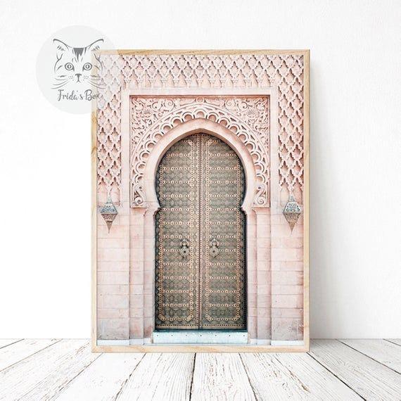 Morocco Art Print Home Decor Wall Art Poster Ancient Doors D