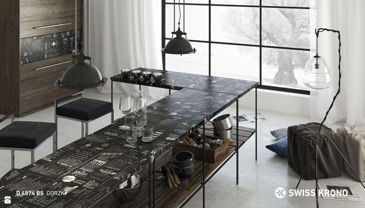 Kuchnia styl Industrialny - zdjęcie od SWISS KRONO - Kuchnia - Styl Industrialny - SWISS KRONO