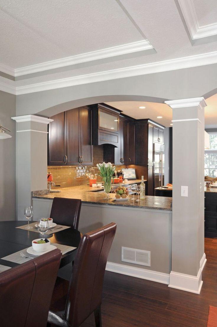 58 awesome half wall kitchen designs ideas island l shaped pinterest kitchen kitchen on e kitchen ideas id=75484