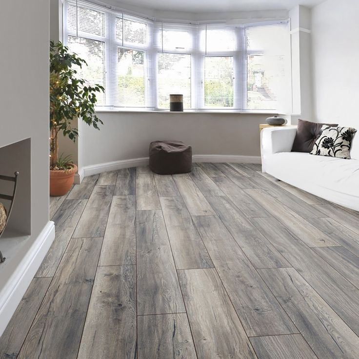 Villa Harbour Oak Grey 12mm Laminate Flooring in 2020