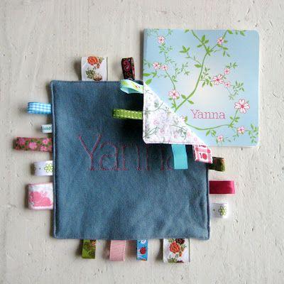 Letters/ Figuren op stof naaien met de naaimachine.
