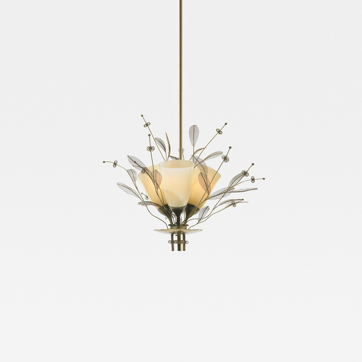 184: Paavo Tynell / chandelier < Scandinavian Design, 15 November 2012 < Auctions | Wright
