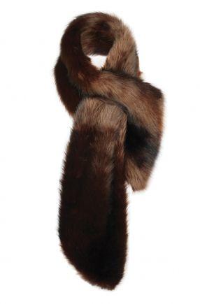 me, me , me...- faux fur neck warmer