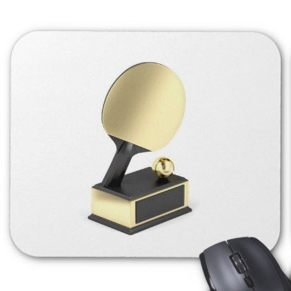 #Table tennis trophy mouse pad - #office #gifts #giftideas #business