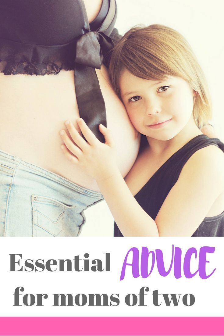 Essential advice for moms of two! A great list of parenting tips for second-time mamas - make sure you read this if you are pregnant with baby #2!