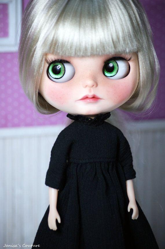 Kleid Länge Gaze für Blythe Pullip eisigen o.ä. von JanisasCouture