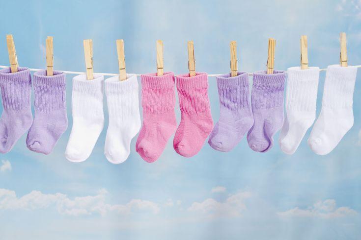 Baby Sock Corsage