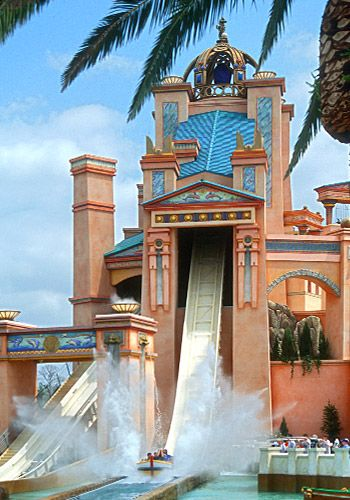Journey to Atlantis; Seaworld Orlando - me  Rhys went on this! don't know if he would again!