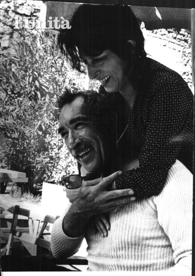 Anna Magnani with Anthony Quinn