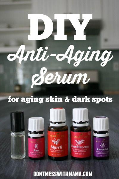 DIY Anti-Aging Facial Serum - Don't Mess with Mama