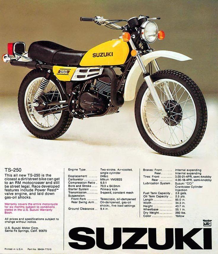 suzuki ts250 | bikes | pinterest | cars