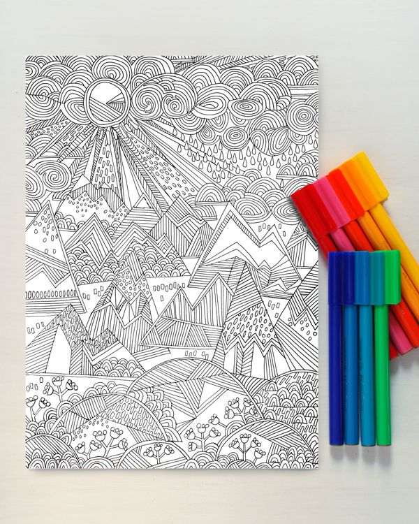 Printable - Coloriage / Coulouring page