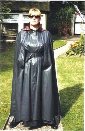 Black klepper cape
